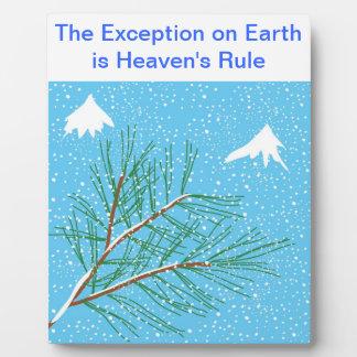 Exception Plaque