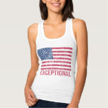 Exceptional American Flag Tank Top