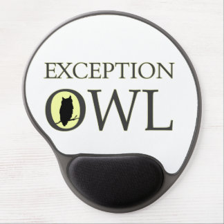 Exceptional Exception Owl Gel Mouse Pad
