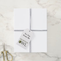Exceptional Exception Owl Gift Tags