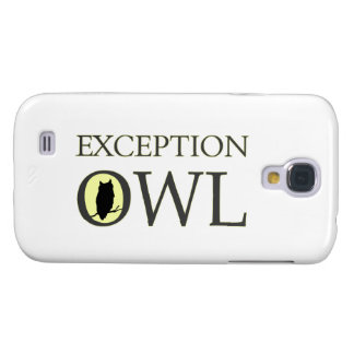 Exceptional Exception Owl Samsung Galaxy S4 Cover