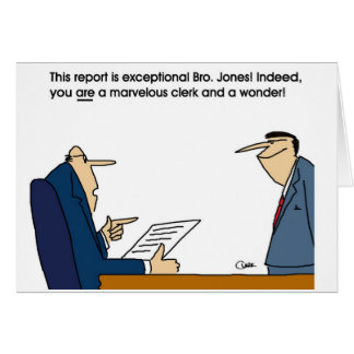 Exceptional report card