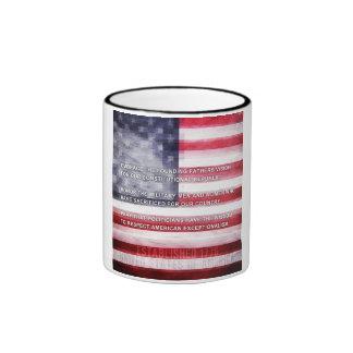 Exceptionalism americano taza a dos colores