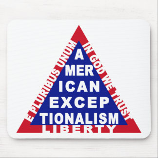 Exceptionalism Mousepad