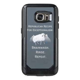 """""""Exceptionalism republicano"""": Lavado de cerebro Funda Otterbox Para Samsung Galaxy S7"""
