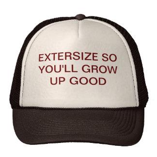 EXCERSIZE HAT