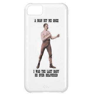 Excesivamente un hombre de hombres auténtico funda para iPhone 5C