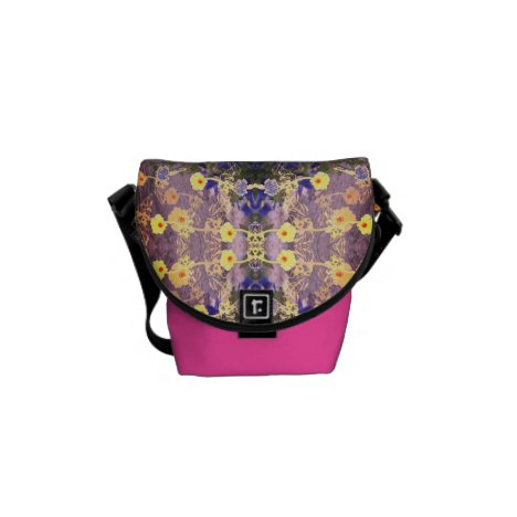 Excess Candy Floral Courier Bag