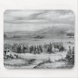 Exchange of prisoners by the Bishop of Algiers Mouse Pad