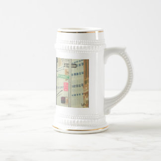 Exchange Place Beer Stein