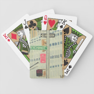 Exchange Place Bicycle Playing Cards