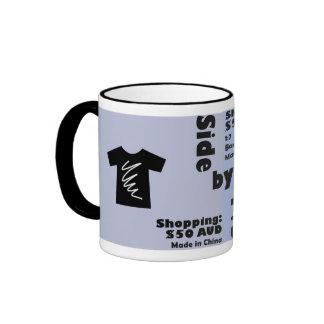 Exchange rates ringer coffee mug
