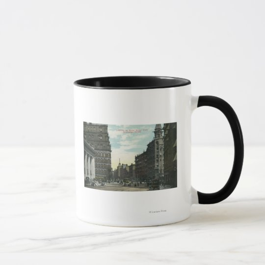 Exchange Street View of State Street Mug