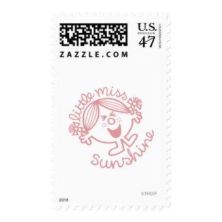 Excitable Little Miss Sunshine Stamp