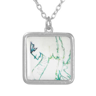Excitation by Luminosity Silver Plated Necklace
