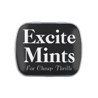 Excite Mints Mint Tin Candy Tin