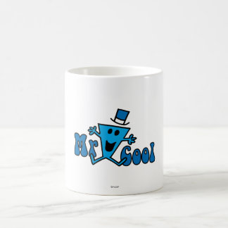 Excited Mr. Cool Jumping For Joy Classic White Coffee Mug