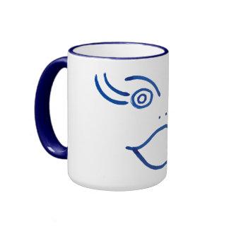 Excited mug