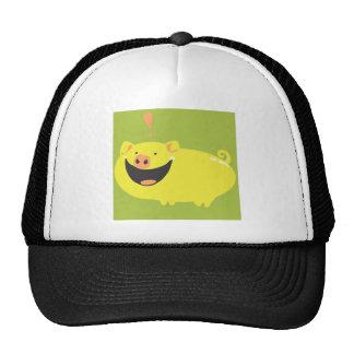 EXCITED PIGGY!! TRUCKER HAT