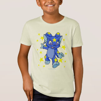 Excited Starry Acara with star burst T-Shirt