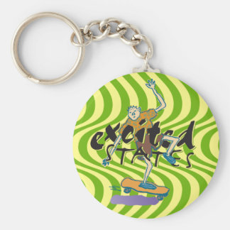 Excited States Keychain