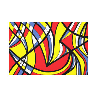 Exciting Awesome Supporting Safe Canvas Print