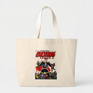 Exciting Comics #51 Jumbo Tote Bag