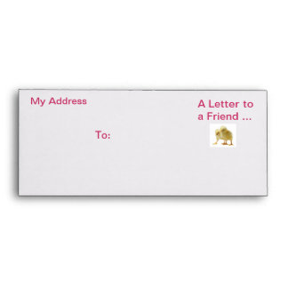 Exciting greeting chick envolope envelopes