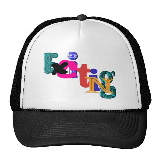 Exciting Mesh Hat