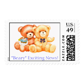 Exciting News - Baby Postage Stamps