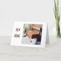 EXCITING NEWS-NEW HOME/NEW FRIENDS CONGRATULATIONS CARD