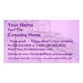 Exclaim -lavender burst (2) business card template