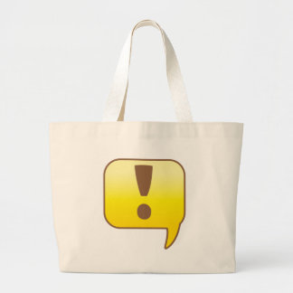 Exclamation ! canvas bags