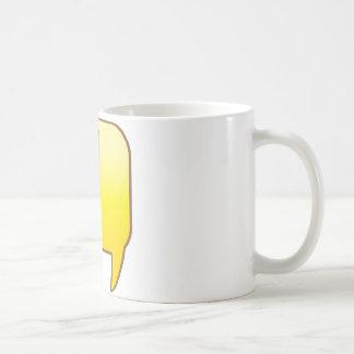 Exclamation ! classic white coffee mug