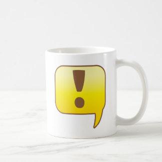 Exclamation ! coffee mug