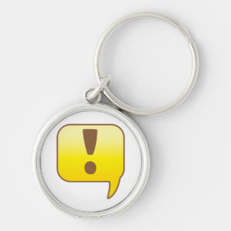 Exclamation ! keychain
