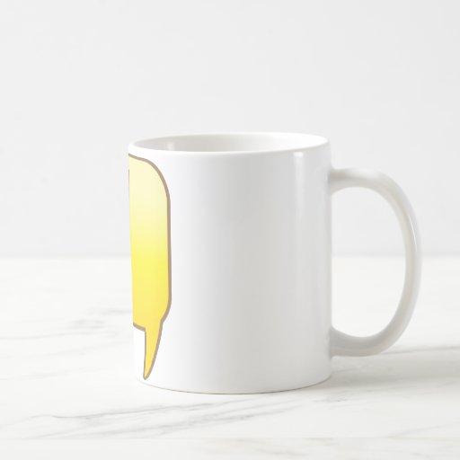Exclamation ! mugs