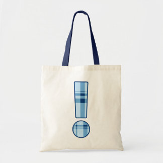 Exclamation Point budget bag