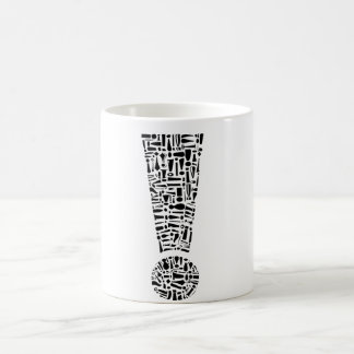 Exclamation Point Classic White Coffee Mug