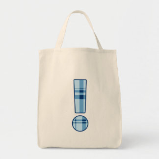 Exclamation Point - grocery bag