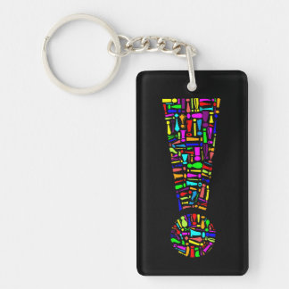 Exclamation Point Keychain