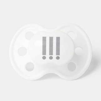 Exclamation Point Pacifier