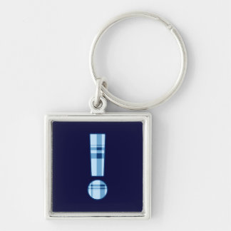 Exclamation Point premium keychain