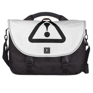 Exclamation Point Sign Commuter Bags
