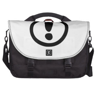 Exclamation Point Sign Bag For Laptop