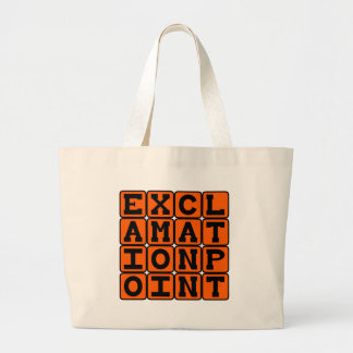 Exclamation Point, Type of Punctuation Bags