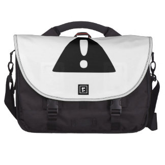 Exclamation Point Warning Sign Bag For Laptop