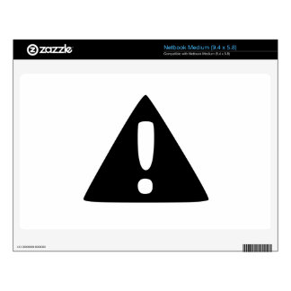 Exclamation Point Warning Sign Skins For Medium Netbooks