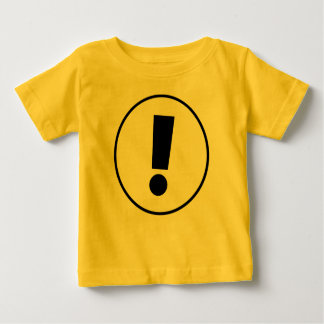 Exclamation T-shirt