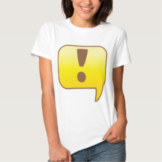 Exclamation ! t shirts